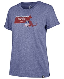 Women's New England Patriots State Love T-Shirt
