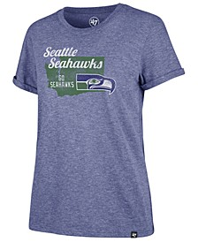 Women's Seattle Seahawks State Love T-Shirt