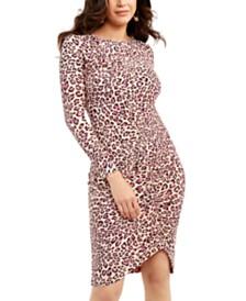 Thalia Sodi Asymmetrical Ruched Dress, Created For Macy's