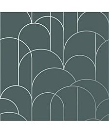 "Engblad Co 21"" x 396"" Arch Geometric Wallpaper"