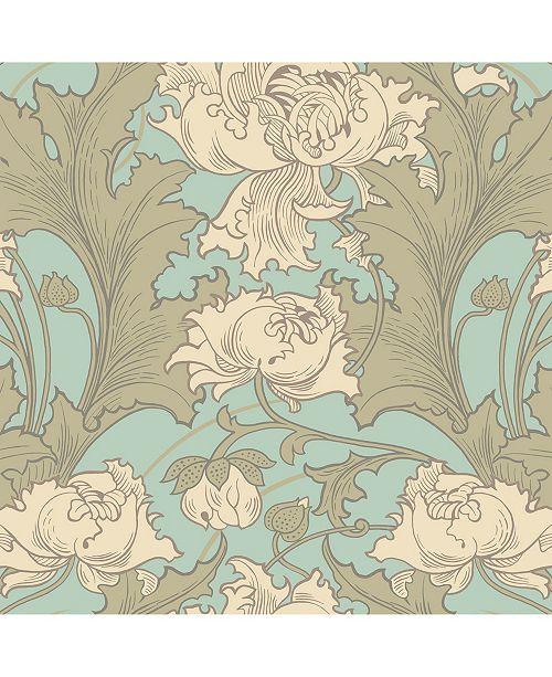 """Wall Vision 21"""" x 396"""" Siri Floral Wallpaper"""