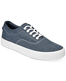 Men's Everyday Casual Canvas Lace-Up Sneakers