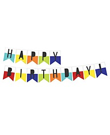 Happy Birthday Wall Art Kit