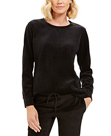 Sport Velour Sweatshirt, Created for Macy's