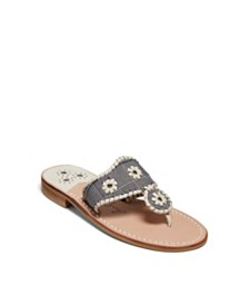 Jack Rogers Jacks Plaid Flat Sandals