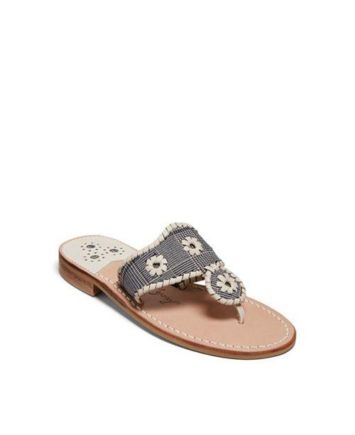 Jack Rogers Jacks Plaid Flat Sandals