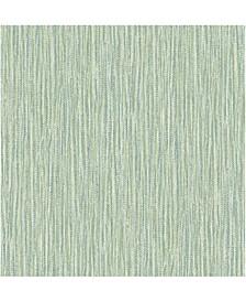 "20.5"" x 396"" Raffia Thames Wallpaper"