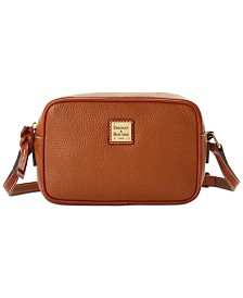 Dooney & Bourke Pebble Leather Camera Crossbody