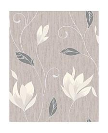 "20.5"" x 369"" Anais Floral Trails Wallpaper"