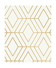 "20.5"" x 369"" Adaline Geometric Wallpaper"