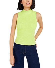 Becca Tilley x Mock-Neck Sweater Tank Top, Created for Macy's