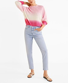 Mango Ombre Cotton Sweater