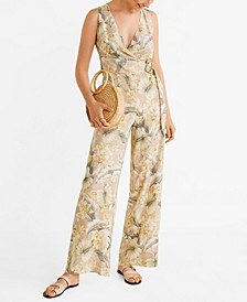Buckle Print Jumpsuit