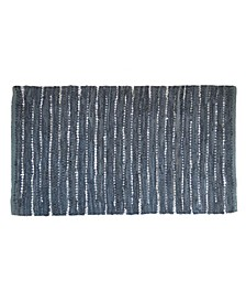BCBG MaxAzria Leather Stripe Accent Rug