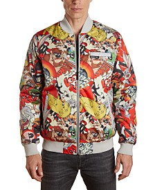 Member's Only Men's Vintage Looney Tunes Bomber