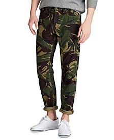 Men's Big & Tall Stretch Cord Five-Pocket Camo Pants