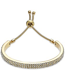 Pavé Curved Bar Slider Bracelet, Created for Macy's