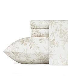 Faye Toile Flannel Twin Sheet set