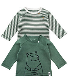 Mac & Moon Baby Boy 2-Pack Raglan Tees