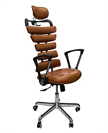 Soho Office Ergonomic Adjustable Chair with Fixed Handles