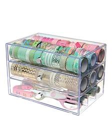 Small 3-Drawer Storage Organizer