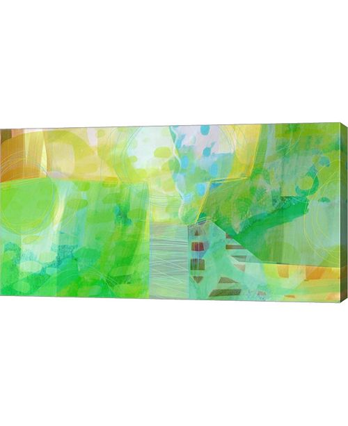 "Metaverse Sunny Sunday a by Delores Naskrent Canvas Art, 37.5"" x 20"""
