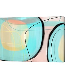"Metaverse Blown Glass by Delores Naskrent Canvas Art, 27.5"" x 20"""