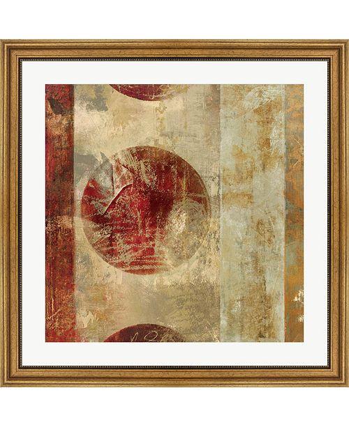 "Metaverse Caribbean Sunrise Square I by Roque Silva Framed Art, 32"" x 32"""