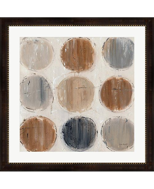 "Metaverse Abstract Balance VIII by Lisa Audit Framed Art, 32"" x 32"""