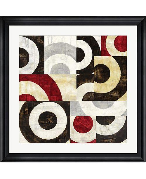 "Metaverse Addendum I by Sandro Nava Framed Art, 32"" x 32"""