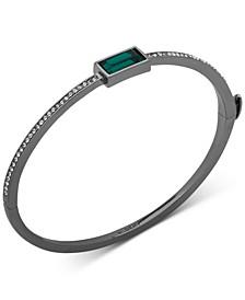 Crystal & Stone Bangle Bracelet