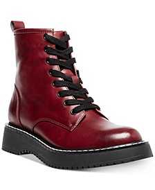 Kurrt Lace-Up Combat Boots