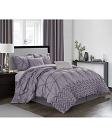 Piercen 7-Pc. California King Comforter Set