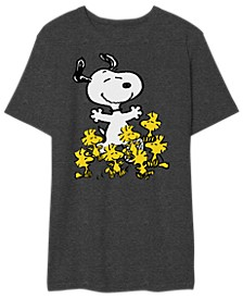 Peanuts Men's Party Graphic Tshirt