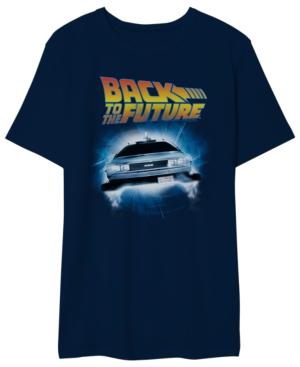 Back to the Future Men's Delorean Graphic Tshirt