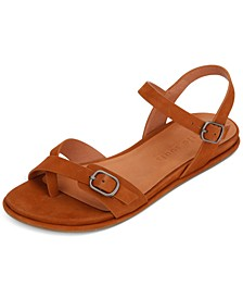 by Kenneth Cole Women's Lark Buckle Sandals