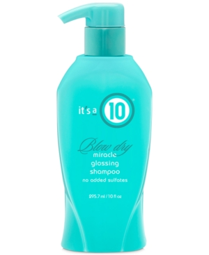 It's a 10 Blow Dry Miracle Glossing Shampoo, 10-oz, from Purebeauty Salon & Spa