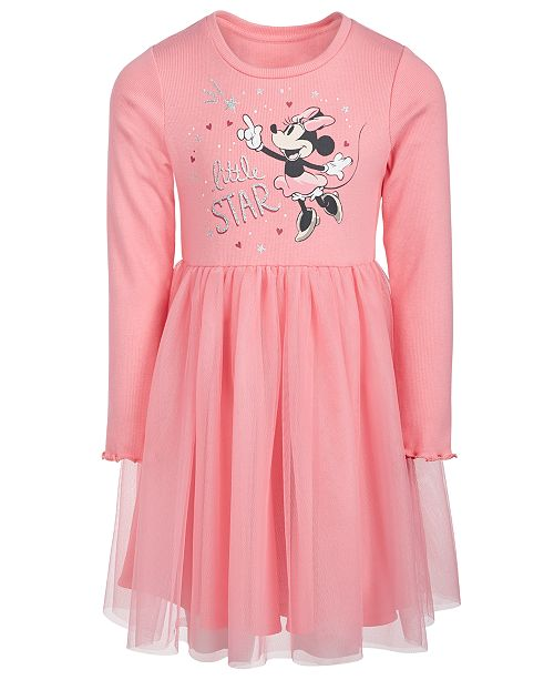 Disney Little Girls Minnie Mouse Little Star Dress
