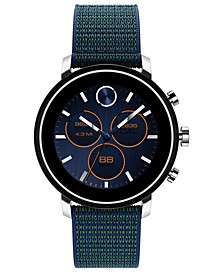 Connect 2.0 Navy Blue Fabric Strap Hybrid Touchscreen Smart Watch 42mm