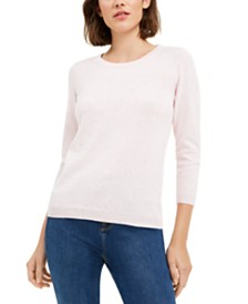Maison Jules Flecked Sweater, Created For Macy's