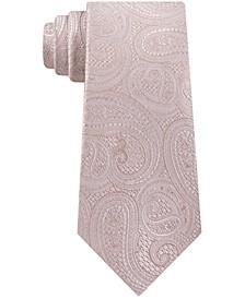 Men's Rich Texture Paisley Silk Tie