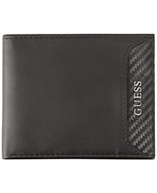 Men's RFID Leather Slimfold Wallet