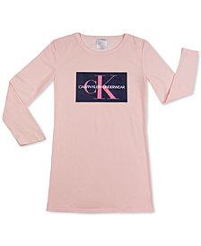 Calvin Klein Big Girls CK Logo Pajamas
