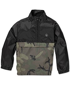 Toddler & Little Boys Wilfred Solid & Camo Jacket