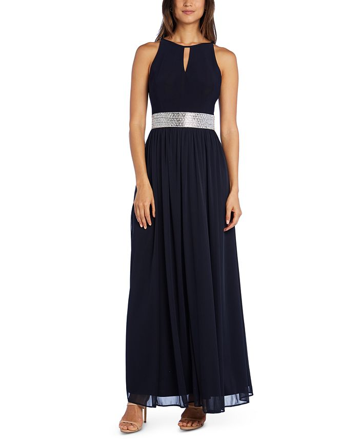 R & M Richards - Embellished Gown
