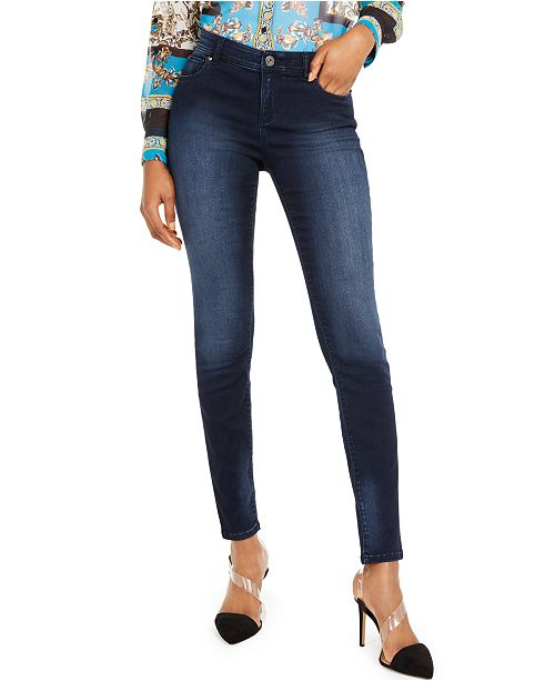 INC International Concepts I.N.C. Petite INCFinity Skinny Jeans, Created For Macy's