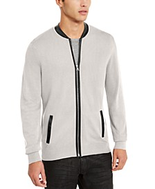 INC Men's Zip-Front Cardigan, Created For Macy's