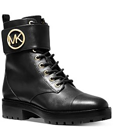 Michael Michael Kors Tatum Combat Boots