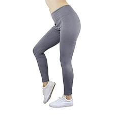 Solid Stretch Ponte Leggings