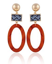 Nanette Nanette Lepore Oval Drop Earring